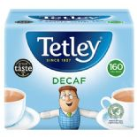Tetley Decaffeinated 160 Tea Bags 500G